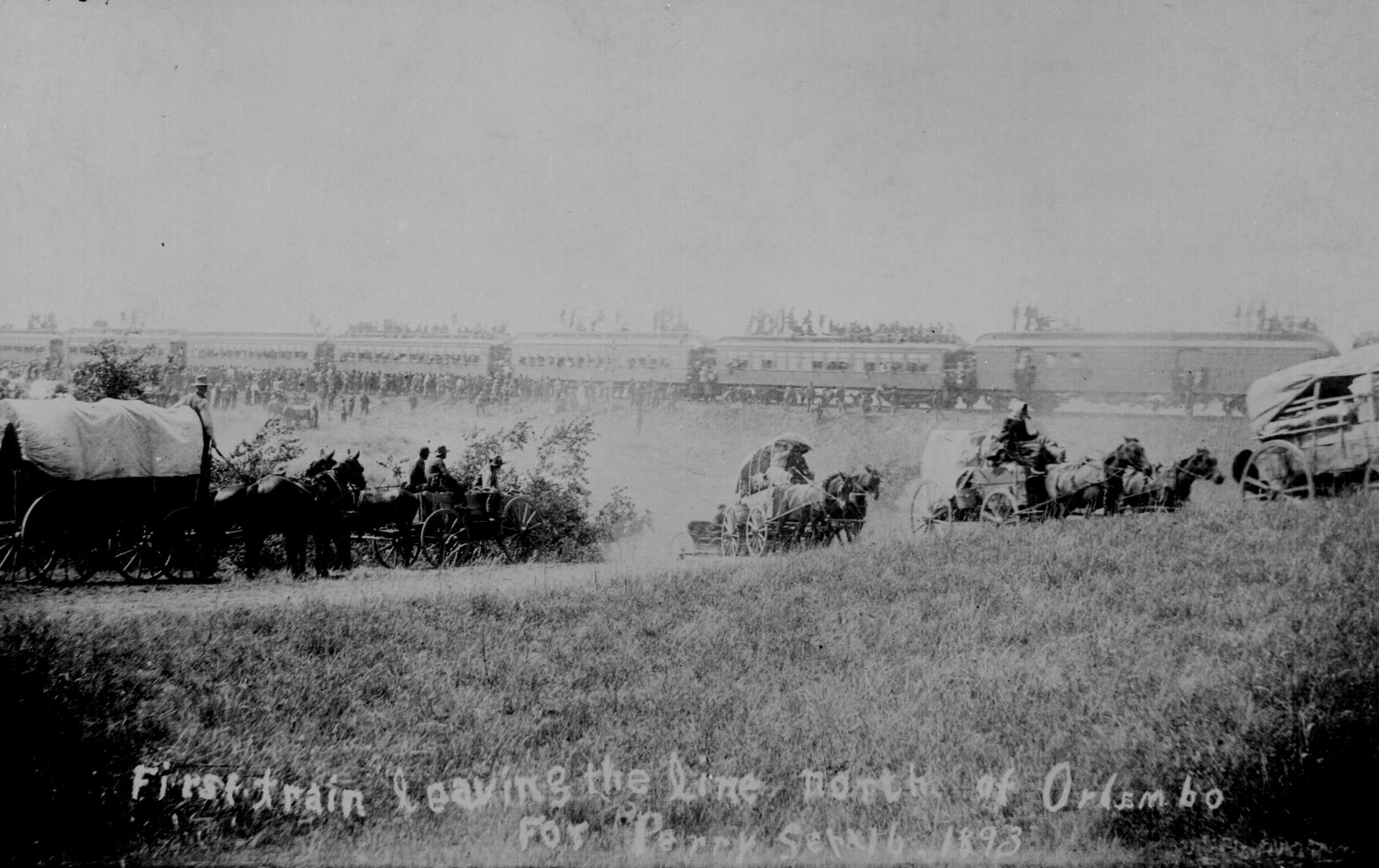 Oklahoma Land Rush Of 1889