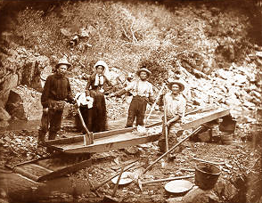 The California Gold Rush (1848-1855)