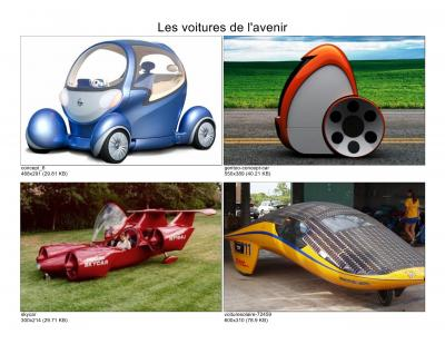 Les Voitures Du Futur / Cars Of The Future