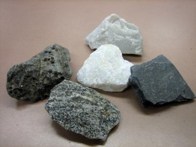 The Different Types Of Rocks.