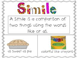 Figurative Language: Simile