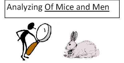 Of Mice And Men: Citing Examples From The Text