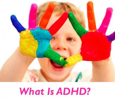 Attention Deficit Hyperactivity Disorder Webpage