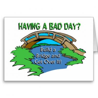 How To Get Over A Bad Day