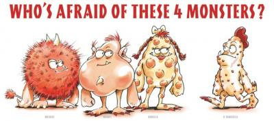 Measles, Mumps, Rubella And Varicella - Communicable And Chronic Diseases