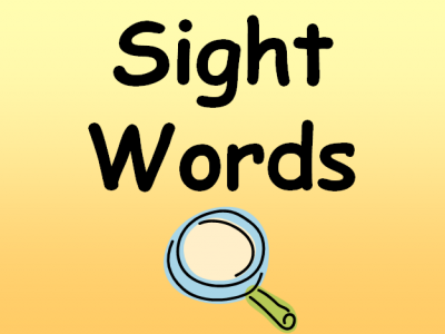 Sight Word Detective Hunt
