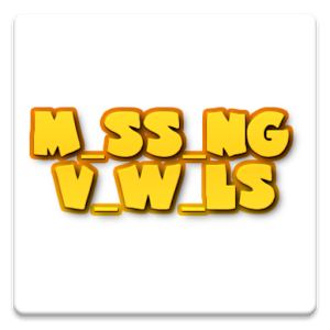 The Case Of The Missing Vowels