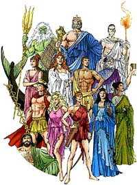 Cultural Greek Gods & Goddesses And Icons Of Today