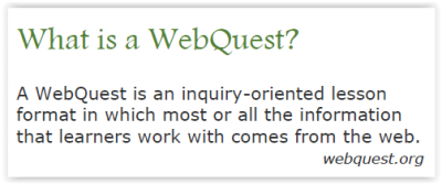 Edu 380 Webquest Activity