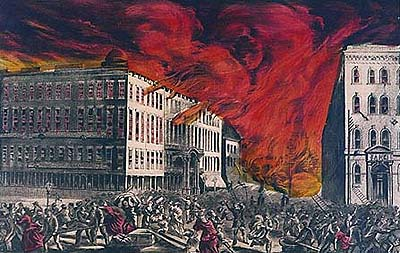 Who Started The Great Chicago Fire?