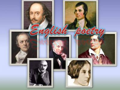 Seven Days Of English Poetry