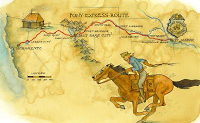 Ride The Pony Express