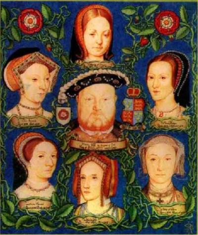 Henry The Viii. Wives
