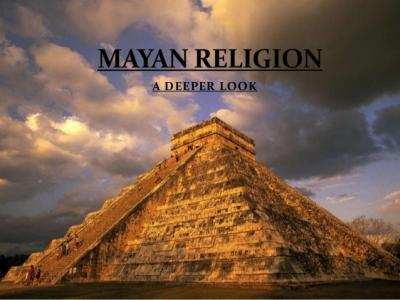 Caribbean History: Social Life Of The Mayans: Religion