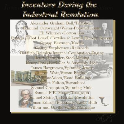 Inventors During The Industrial Revolution