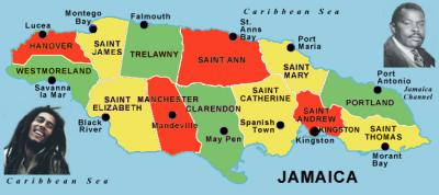 Jamaica'S Parishes And Counties