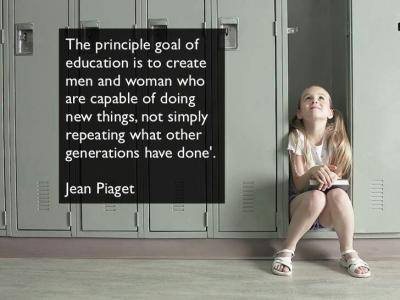 Piaget On  Education