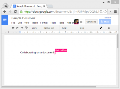 Collaborating On Documents Online In Real Time