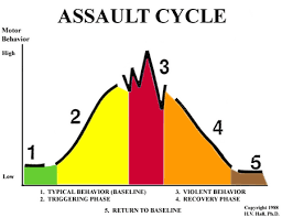 Assault Prevention Through Understanidng Of The Assault Cycle.