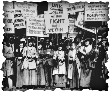 Labor Unions - Second Industrial Revolution