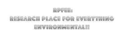 Rpfee: Research Place For Everything Environmental