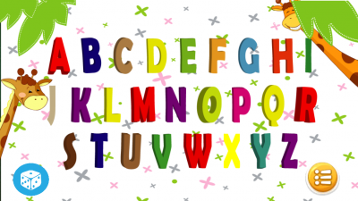 Learning The Letters Of The Alphabet
