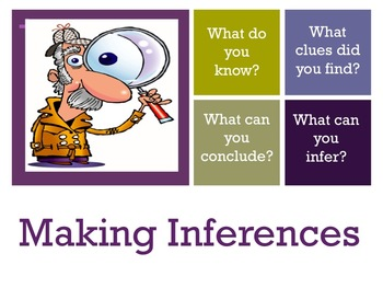 Inference Making In Comprehension