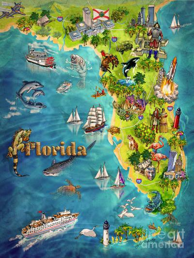 Famous/Historical Places Or Landmarks In Florida.