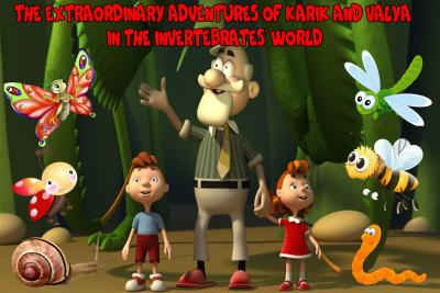 The Extraordinary Adventures Of Karik And Valya In The Invertebrates' World.