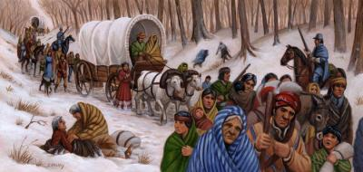 Journey Down The Trail Of Tears