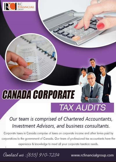 Canada Corporate Tax Audits