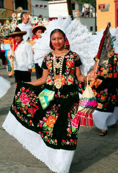 Various Traditional Clothing Of Spain And Latin America