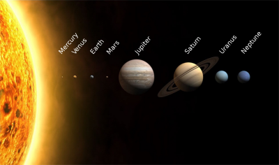 The Solar System!