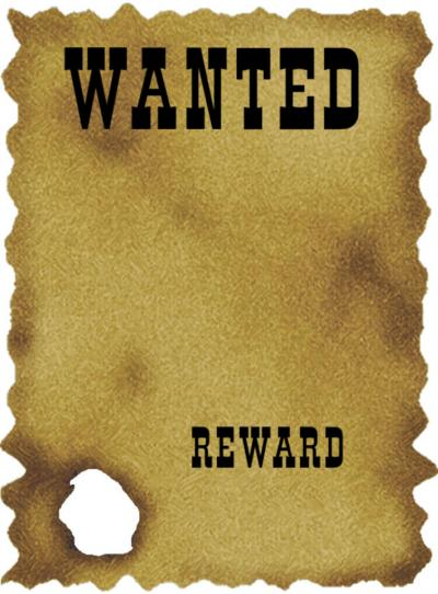 Pathogen Wanted Poster